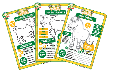 Lessons for Little Farmers - Fun Sheets